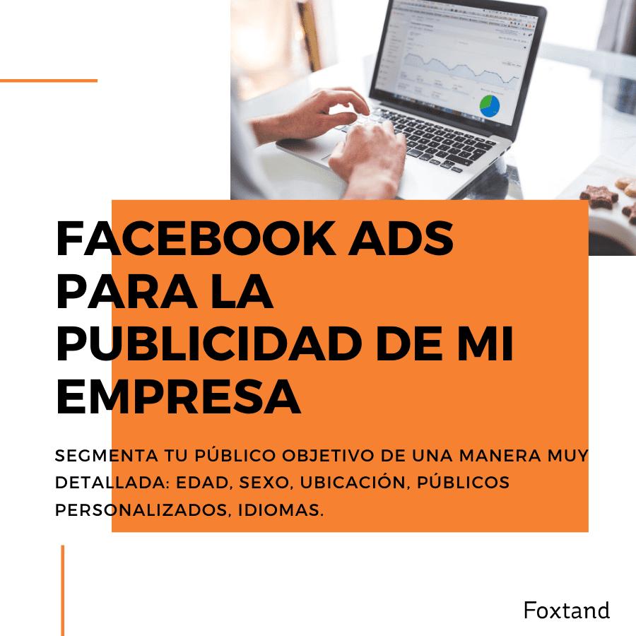beneficos para tu empresas con la publicidad de facebook