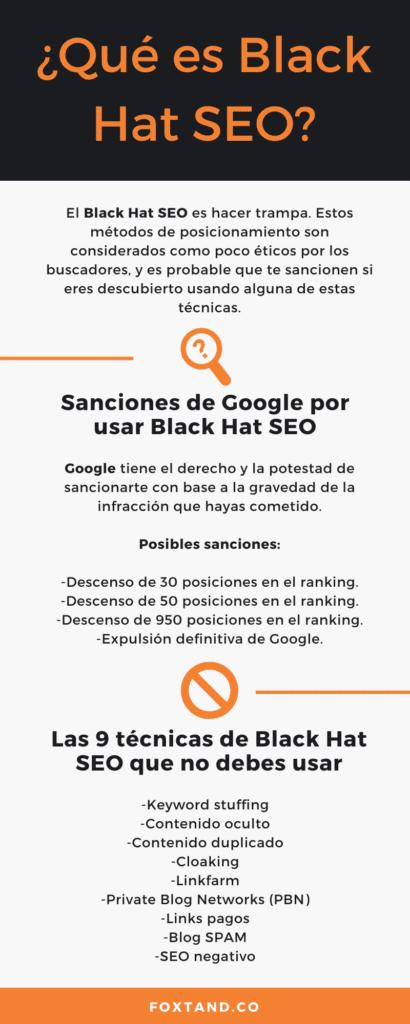 5. ¿Qué es Black Hat SEO? 1
